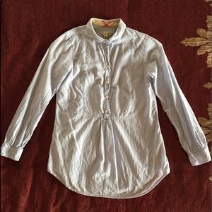 Burberry Brit Women's LS Button Front Shirt XS
